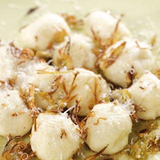 Ricotta Gnocchi with Crispy Artichokes
