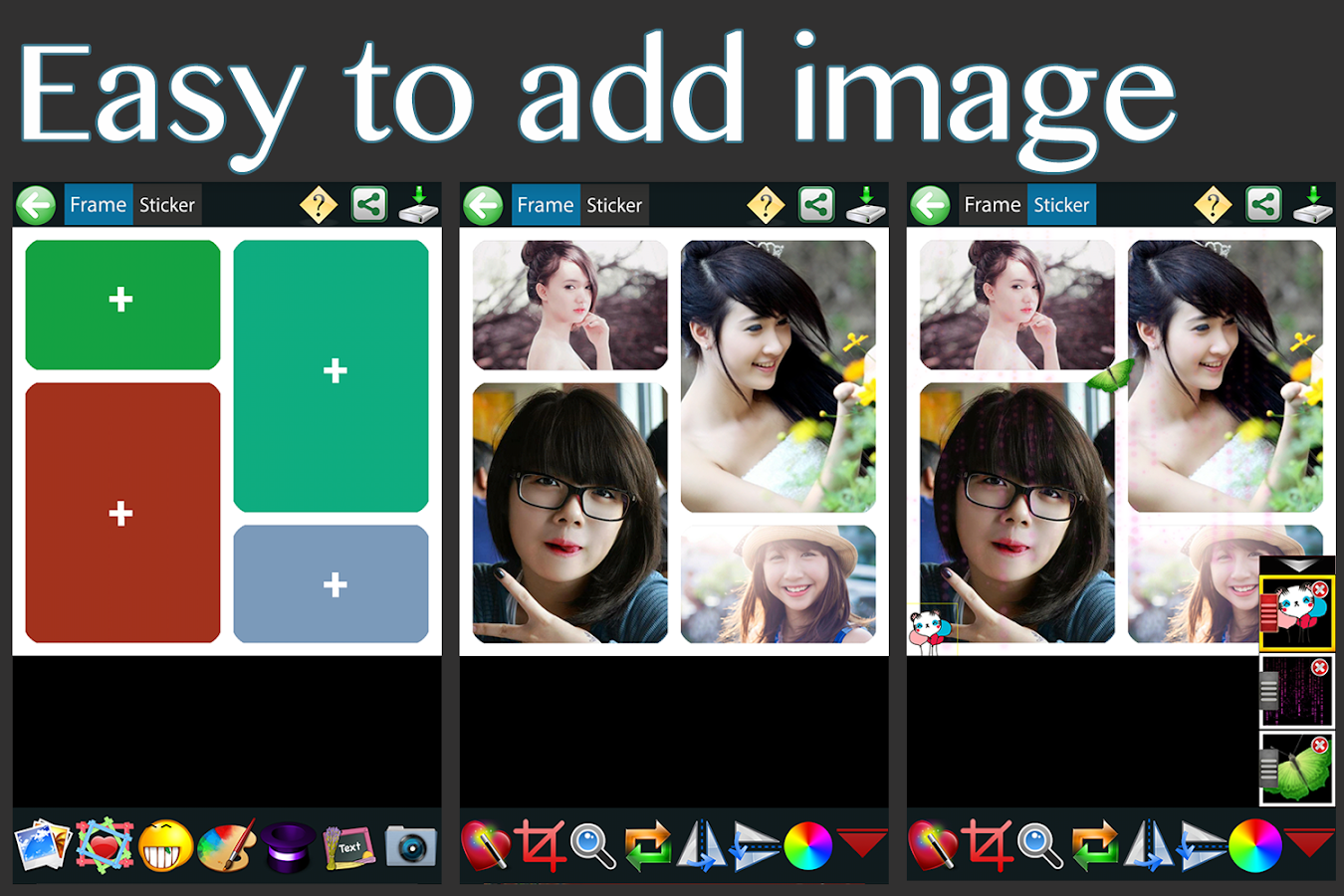 Picture Grid Collage - screenshot