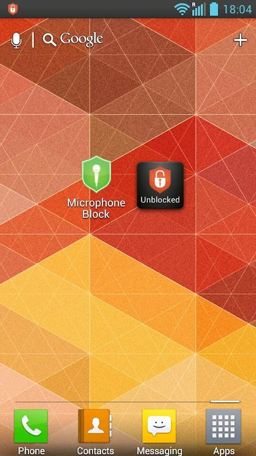 Mic Block -Call speech privacy - screenshot