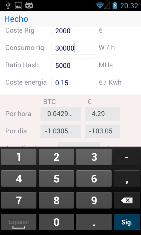 Check Out The Daily Ranking Rank History Ratings Features And Reviews Of Top S Like Bitcoin Mining Calculator Pro On Google Play