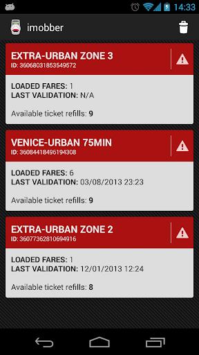 Imobber - Venice Ticket Reader