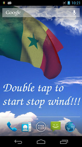3D Senegal Flag LWP +