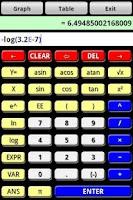 Screenshot of Graphoid Calculator FREE