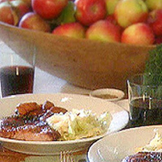 Glazed Pork with Apples