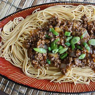 Szechuan Beef Pasta.