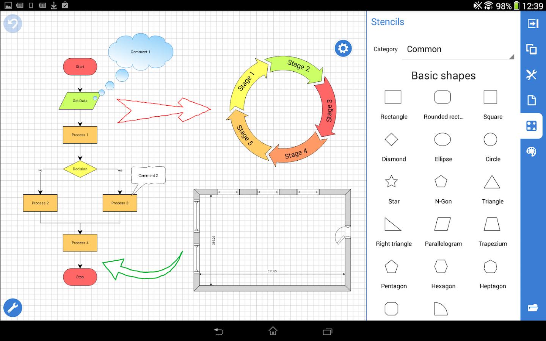 Grapholite Diagrams Demo - screenshot