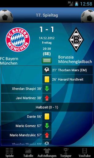 Bundesliga live for android for Bundesliga live