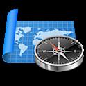 Mapas e navegação GPS icon