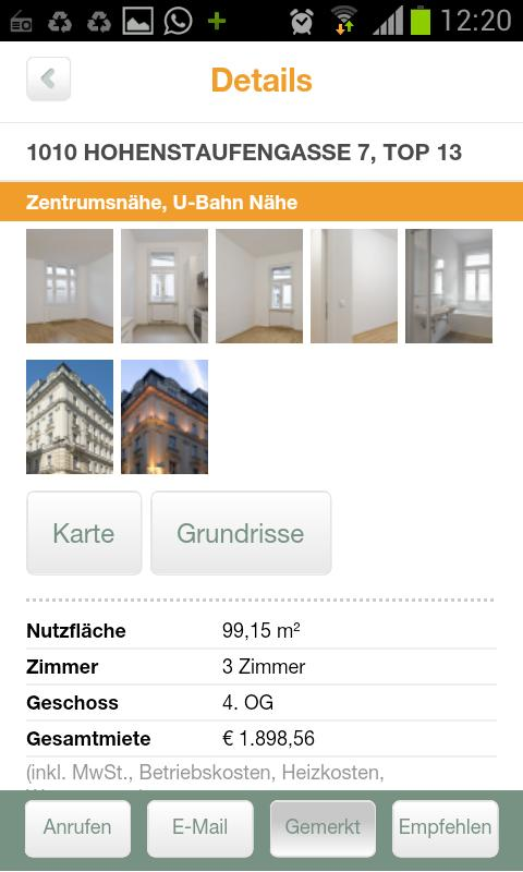 IG Immobilien - screenshot
