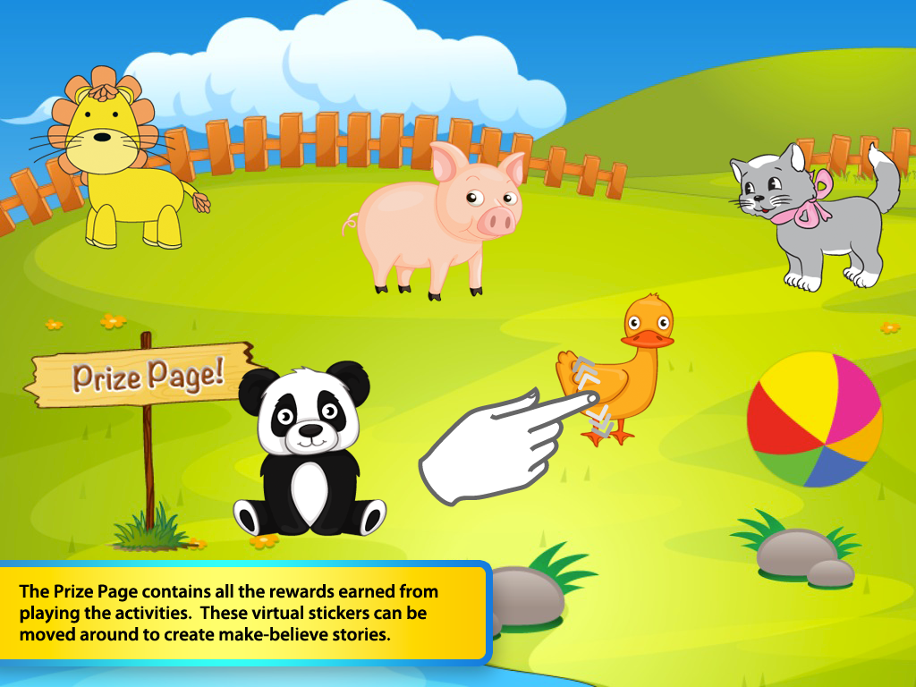 First Animal Words: Toddlers- screenshot