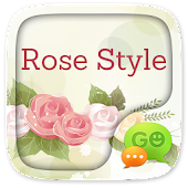 GO SMS PRO ROSE STYLE THEME