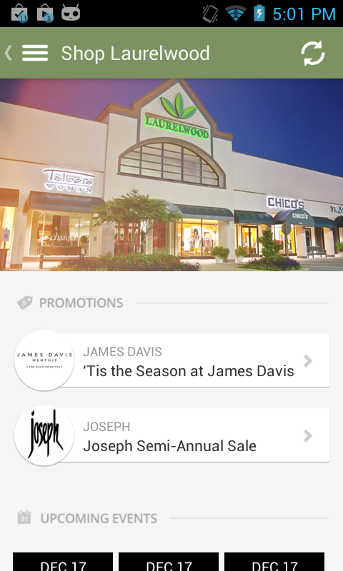 Laurelwood Shopping Center- screenshot