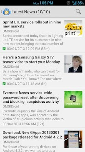 OMG!Droid - screenshot thumbnail