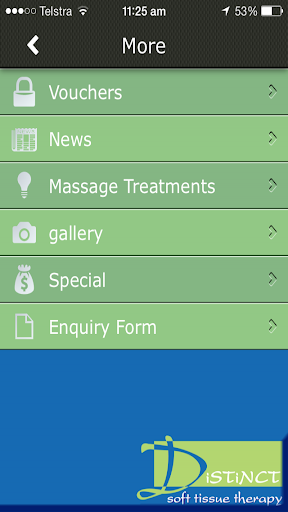 玩商業App|Distinct Soft Tissue Therapy免費|APP試玩