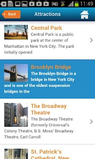 NYC Guide New York Map Weather - screenshot thumbnail