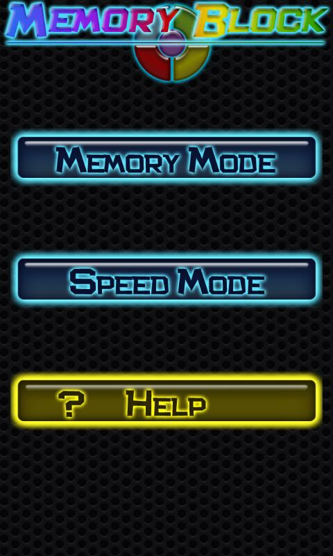 MemoryBlock - screenshot