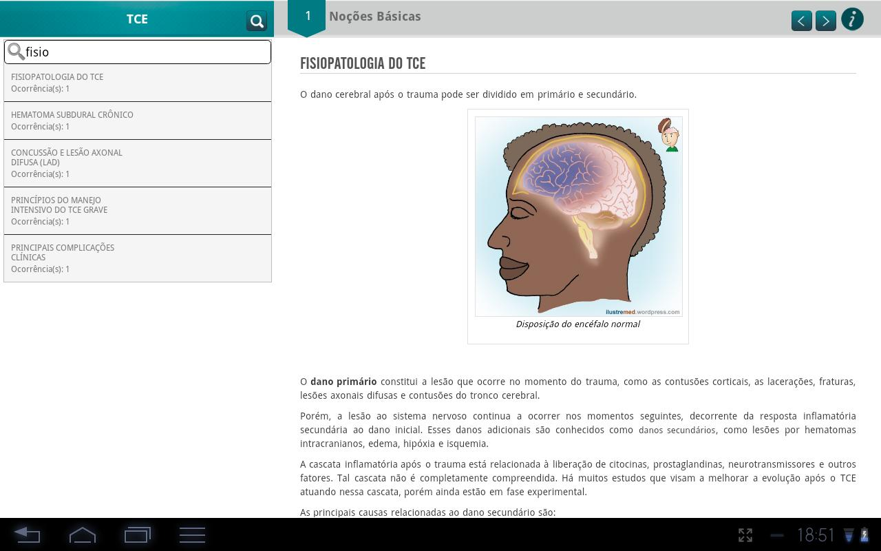 Traumatic Brain Injury (TBI)- screenshot