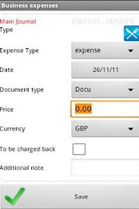 Business Expense Manager screenshot 1