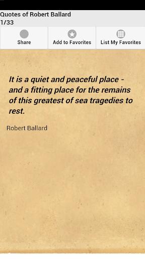 Quotes of Robert Ballard