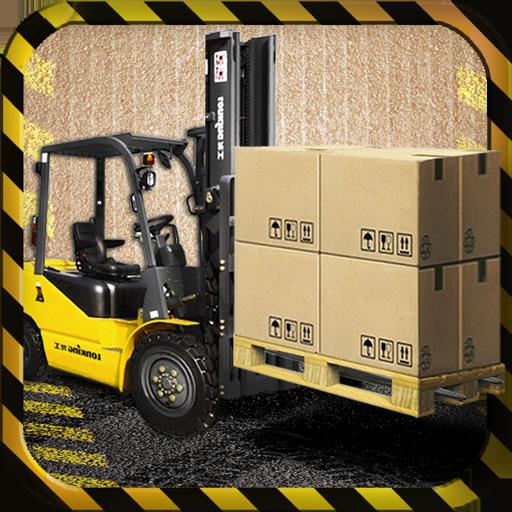 Forklift Simulator 3D LOGO-APP點子