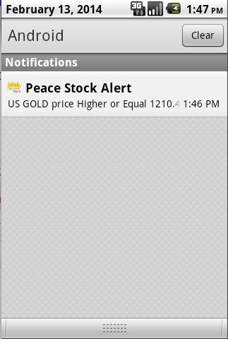 Gold Silver Metal Alert