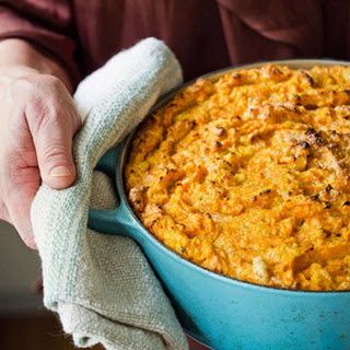 Sweet Potato Spoon Bread.