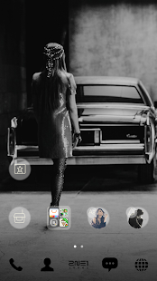 2NE1 LINE Launcher theme- screenshot thumbnail