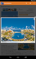 Screenshot of Pauschalreisen - Urlaubssuche