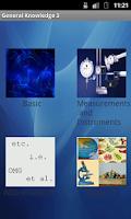 Screenshot of General Knowledge 3