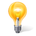 Light meter (lux meter/sensor) logo