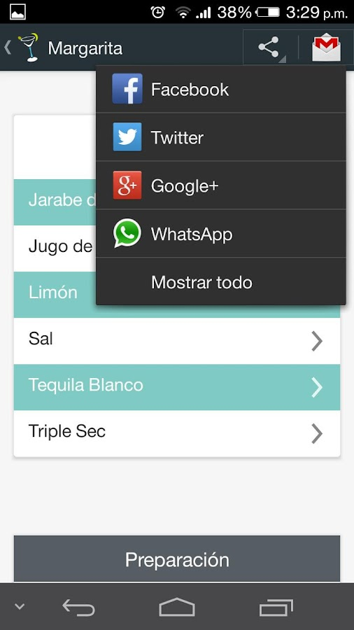 TuTrago- screenshot