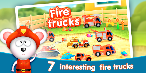 Firetrucks: rescue for kids Screenshot 6