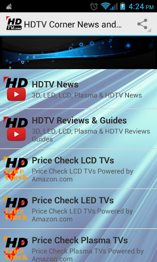 HDTV Corner News and Reviews