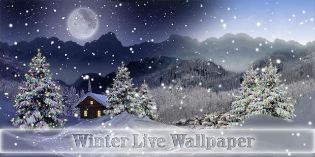 Winter Snow Xmas LWP Free- screenshot thumbnail
