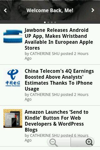 Tech News Madhole - screenshot