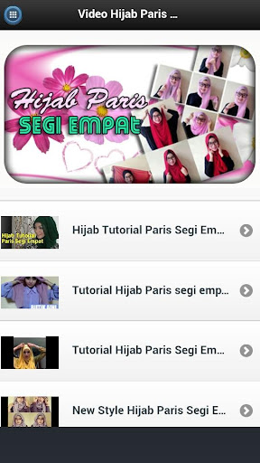 Video Hijab Paris Segi Empat