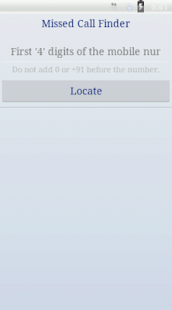 Missed Call Finder-Locator - screenshot thumbnail