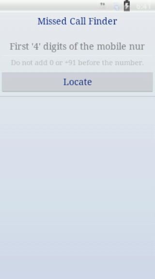 Missed Call Finder-Locator - screenshot