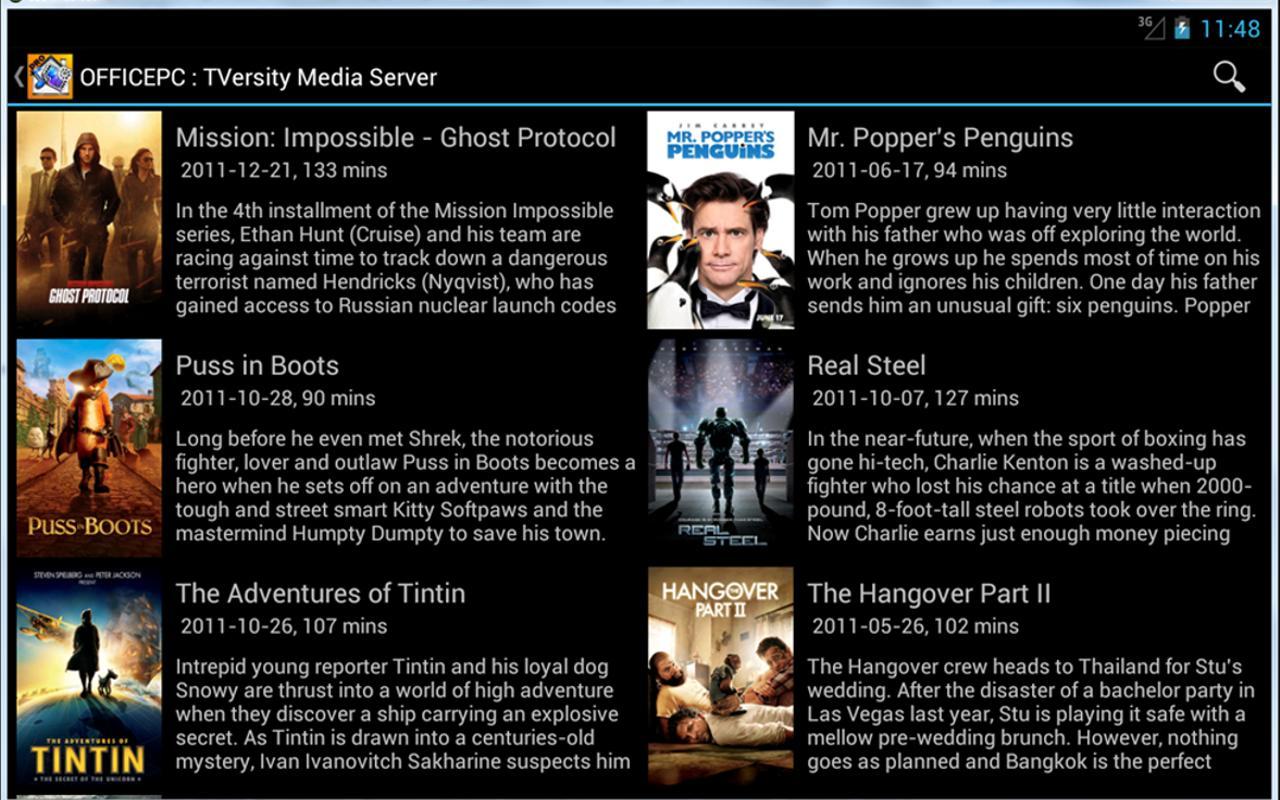 MediaHouse-Pro UPnP/DLNA - screenshot
