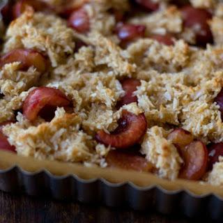 Macaroon Cherry Tart.