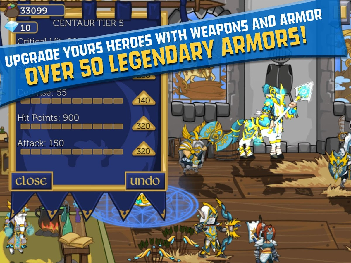 Legendary Wars- screenshot