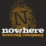 Logo for Nowhere Brewing Company