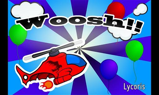 """子供向け飛行機ゲームアプリ """"Woosh"""""""