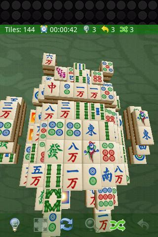 Mahjong 3D - screenshot