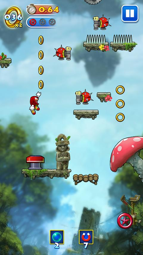 Sonic Jump- screenshot