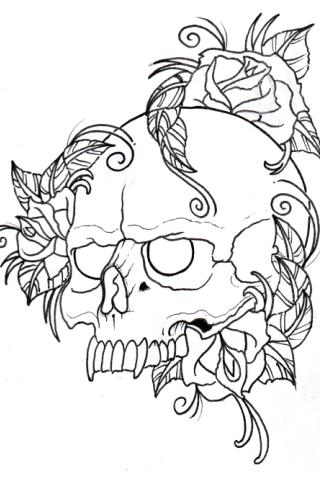 Pop Tattoo Pattern and Design - screenshot