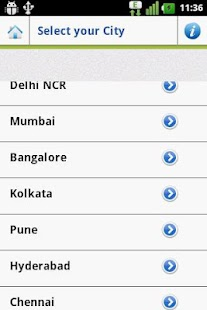 Restaurant Finder India V 1.0 - screenshot thumbnail