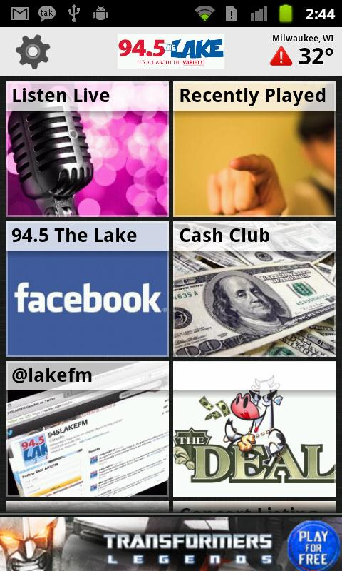 94.5 The Lake - screenshot