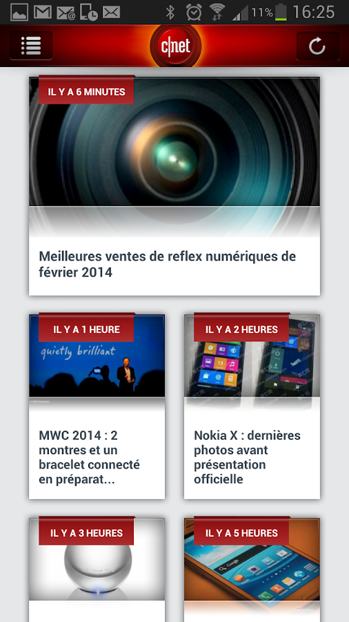 CNET France - screenshot