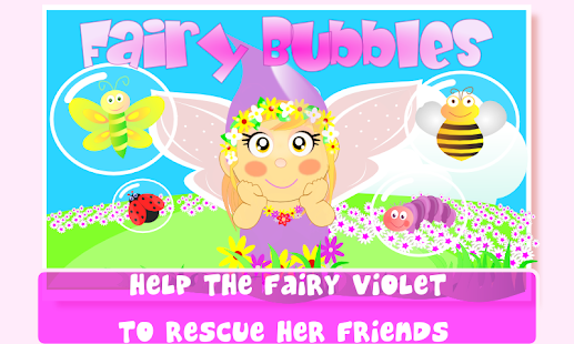 Fairy Bubbles for kids- screenshot thumbnail